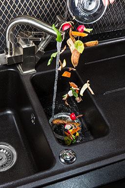 Food waste disposer machine for your kitchen.