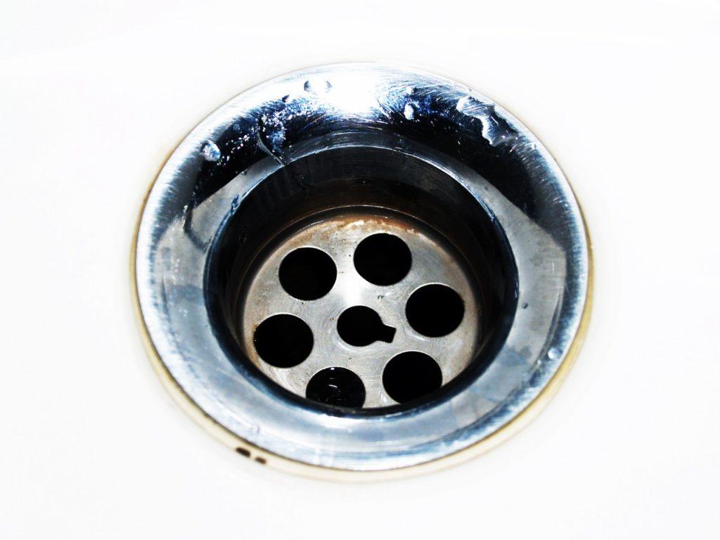 A sink drain